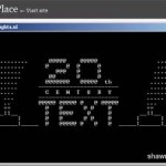 How to Watch Star War in command prompt