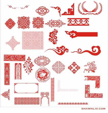 Chinese Classic Vector Pattern