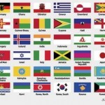 Free Vector Graphics of International Flags 2