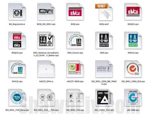 certificate logo vector download