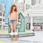 Raffles Place – Model Portrait
