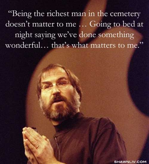 Top 10 Great Inspirational / Innovative Quotes from Steve Jobs