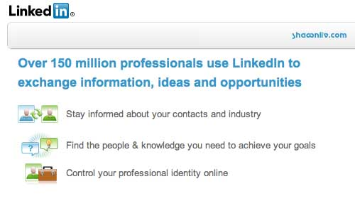 Mission Statement of LinkedIn