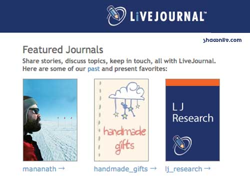 Mission Statement of Livejournal
