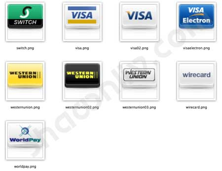 Online Payment Method Icons Download