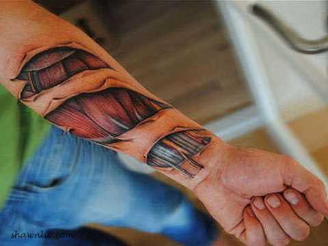 The New Art - 3D Tattoos