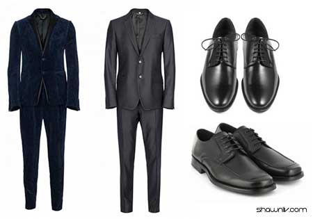 Suit and Shoes