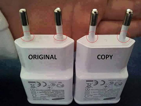 Samsung: Difference between Original and Fake