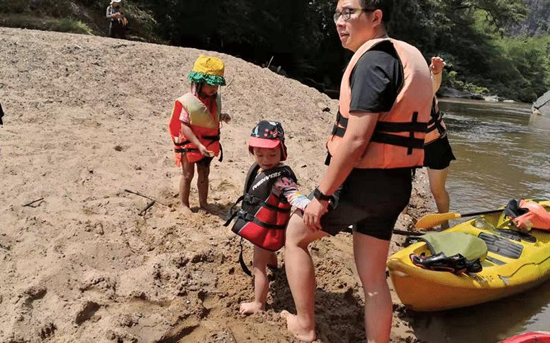 Rainforest Kayaking - beach