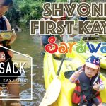 Shvonne First Rainforest Kayaking in Kuching