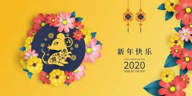 Chinese New Year 2020 Rat Year